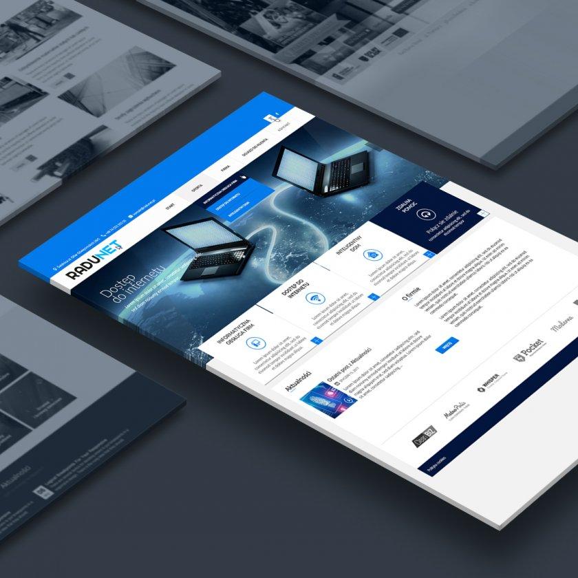 Strona www wykonana pzrez Euforino